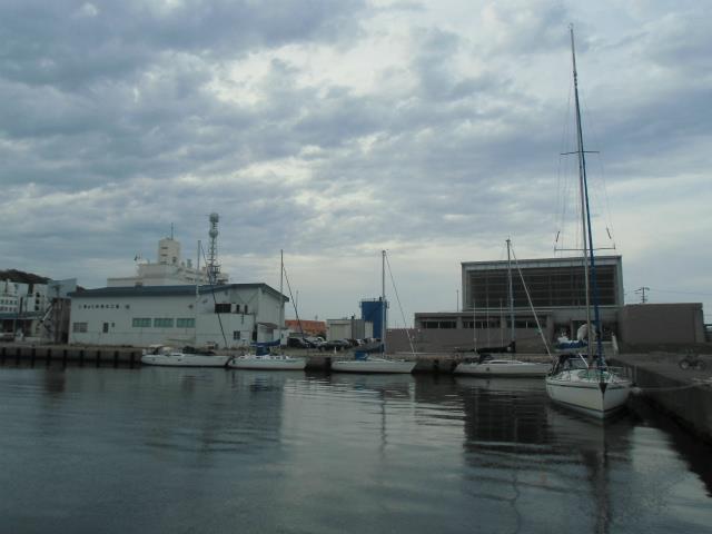 20140709停泊するヨット達-1