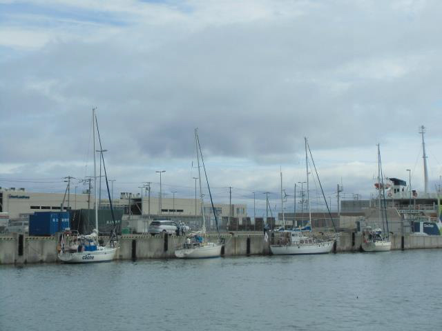 20140815サハリンホルムスク港から寄港したヨット達-1