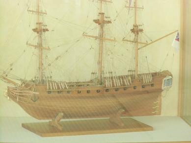 H.M.Sユニコーン号   イギリス国籍 18世紀 フリゲート艦